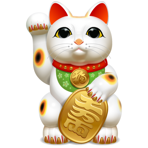 Resultado de imagem para símbolos do feng shui GATOS DA SORTE