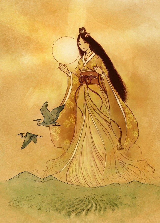 Amaterasu: A Deusa do Sol no Japão | Mitologia Japonesa
