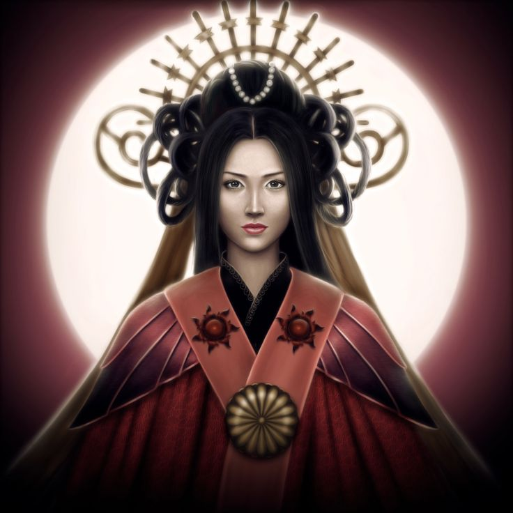 Resultado de imagem para deusa do sol amaterasu omikami