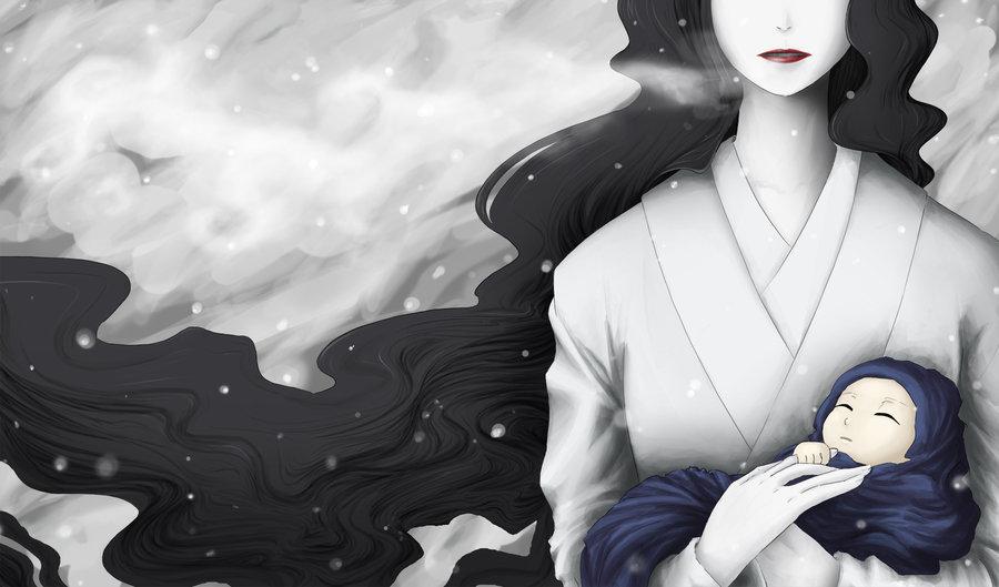 Yuki-Onna_by_theomania