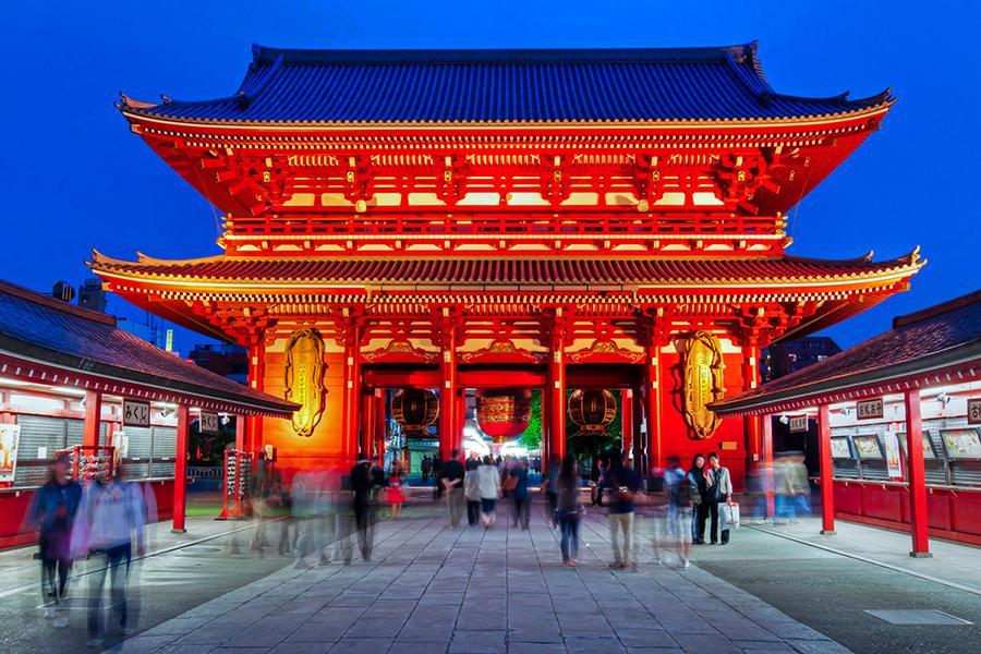 Resultado de imagem para templo de asakusa kannon tokyo
