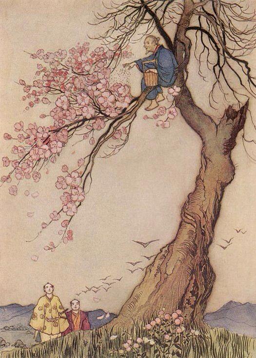 Spoilers CAP 51. The-Man-Who-Made-the-Trees-Bloom_Hanasaka-Jiisan